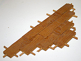 An example of the model's joinery.
